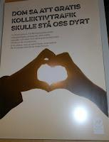 Avesta kommun: DOM SA ATT GRATIS KOLLEKTIVTRAFIK SKULLE STÅ OSS DYRT