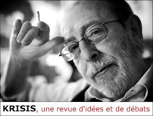 Alain de Benoist, Directeur de publication de la revue Krisis depuis 1988