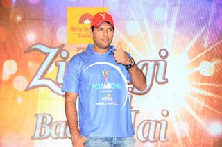 Yuvraj Singh Spotted 'Cancer - Zindagi Abhi Baki Hai' event gallery