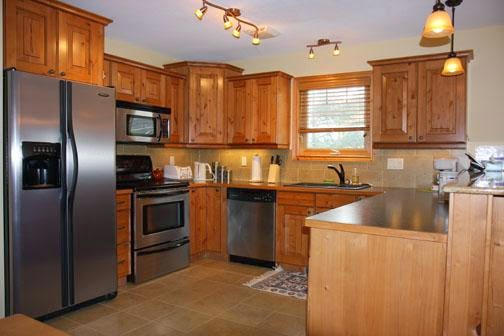 Best wood for kitchen cabinets ayanahouse for Types of wood used for cabinets