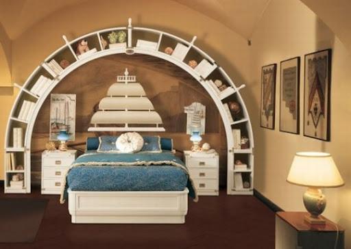 Dormitorios marineros para ni os ideas para decorar for Dormitorios tematicos