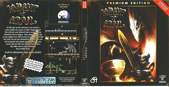C64 - Knight 'n' Grail ya disponible