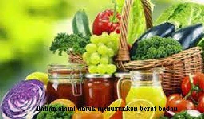 Resep Diet Berbahan Alami Turunkan Berat Badan
