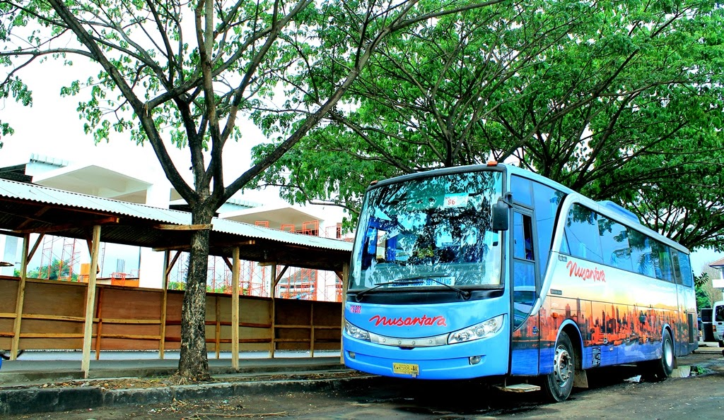 Foto Bus Nusantara New Travego