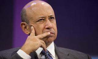 Lloyd Blankfein CEO PDG Goldman Sachs bankster