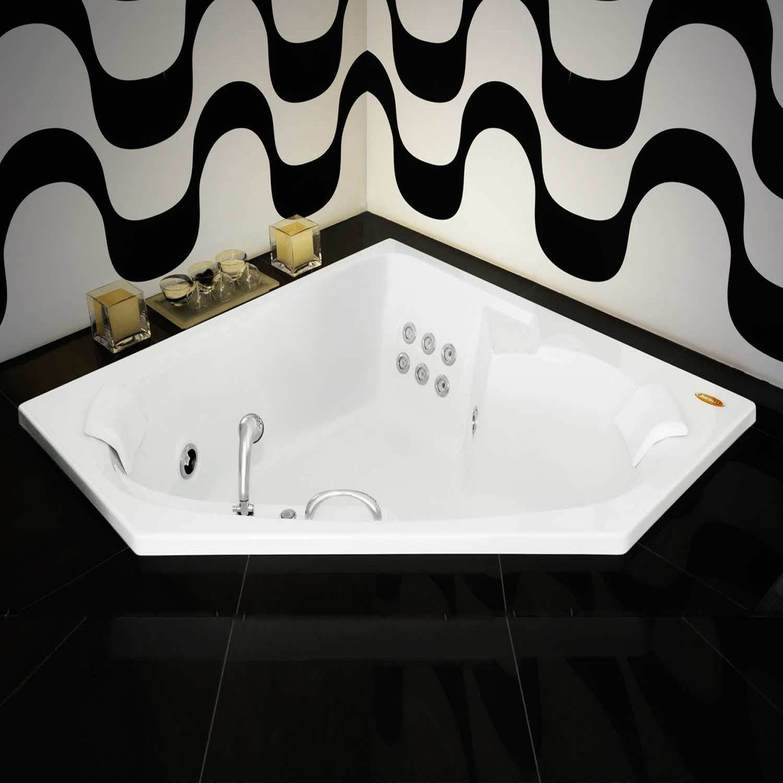 HIDROSHOW & HIDROSHOW: Formatos de Banheiras de Hidromassagem #947837 1500x1500 Banheiro Com Banheira De Canto