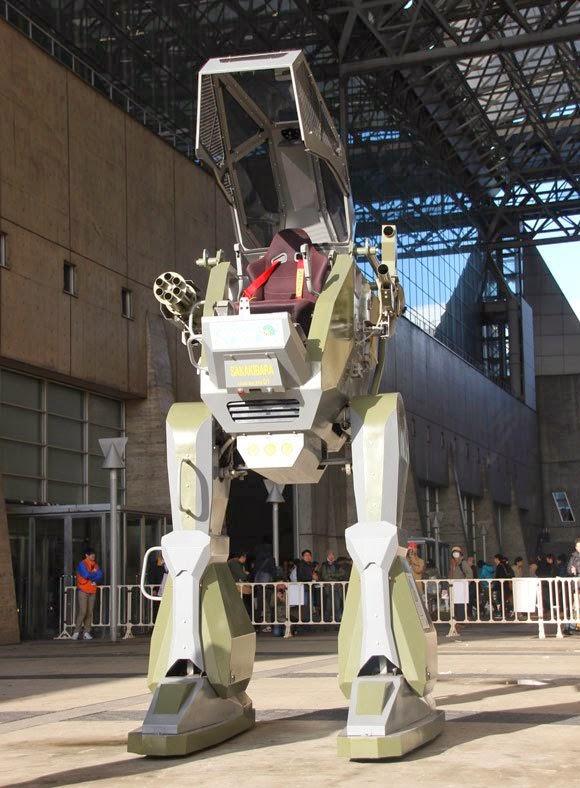 Robot Jepang Yang Bisa Dikendalikan