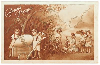 Cartolina Buona Pasqua 1931