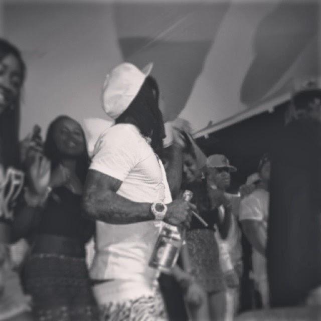 fotos de Lil Wayne, Birdman, Mack Maine, Euro, Lil Twist, Cortez Bryant, Young Thug, Cortez Bryant, Gudda Gudda, Marley G, Shanell, Chanel West Coast y Santi Rubirosa en illmore