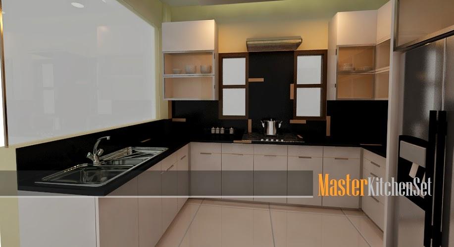 Kitchen set solo blog master gallery solo  putih 1