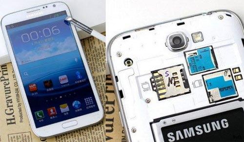 Versione con due sim telefoniche per il Samsung Galaxy Note 2 in Cina