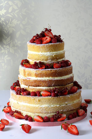 Bridesmaid Hairstyles 2013 : Naked Wedding Cakes - Just Delicious!