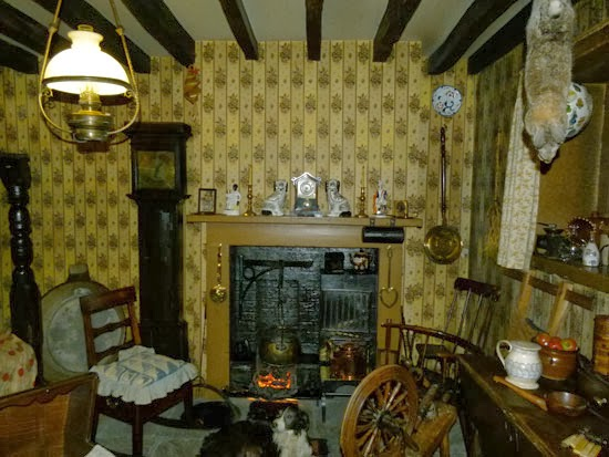 York Castle, Dales farmouse, how people lived, British social history