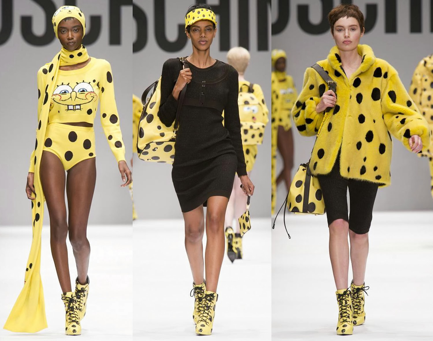 Moschino Autumn Fall Winter 2014 11
