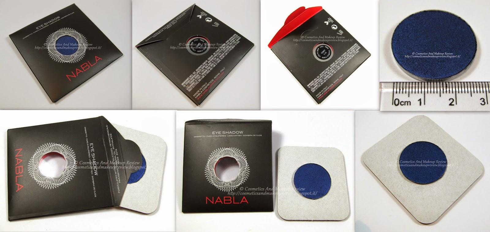 Nabla Cosmetics - Genesis Collection - packaging