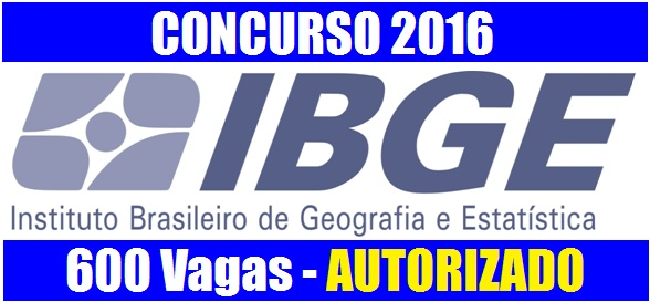 IBGE abre concurso público para preenchimento de 600 vagas