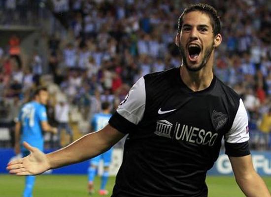 Isco Malaga Midfielder
