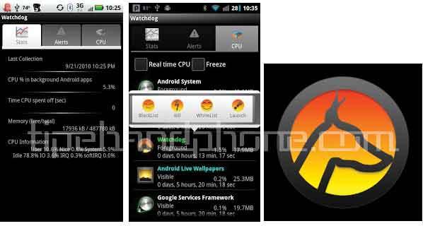 Aplikasi Mempercepat Android Watchdog