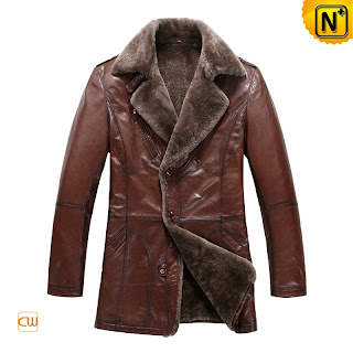 Brown Fur Lined Coat