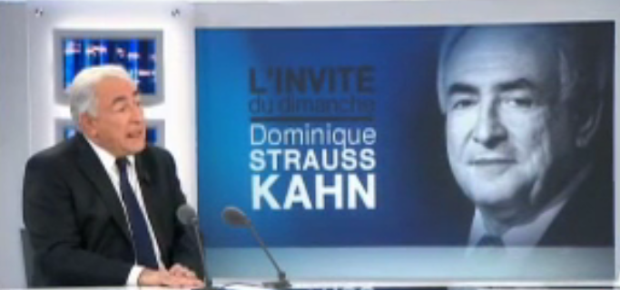 Interview DSK France 2 Dominique Strauss Kahn