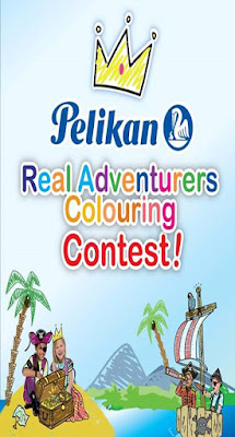 Pelikan Real Adventurers Colouring Contest