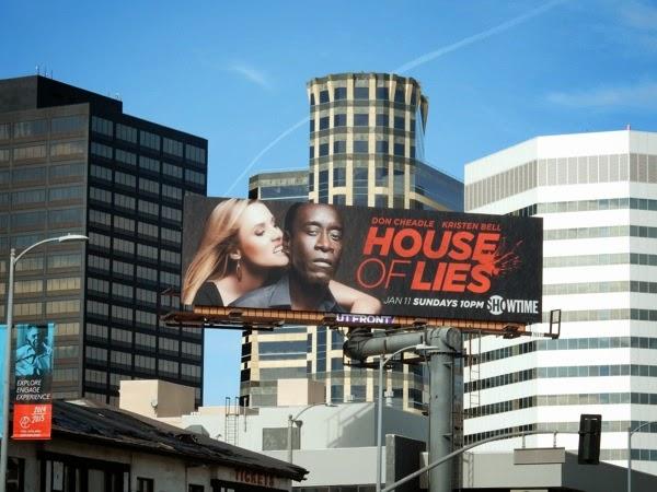 House of Lies season 4 billboard