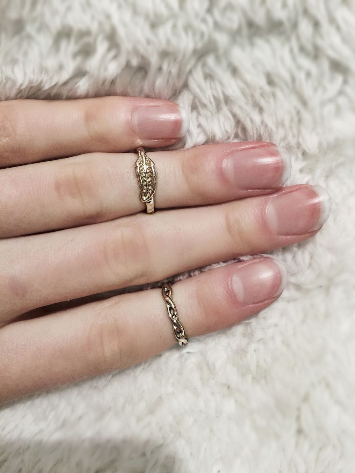 River island rings, blogger