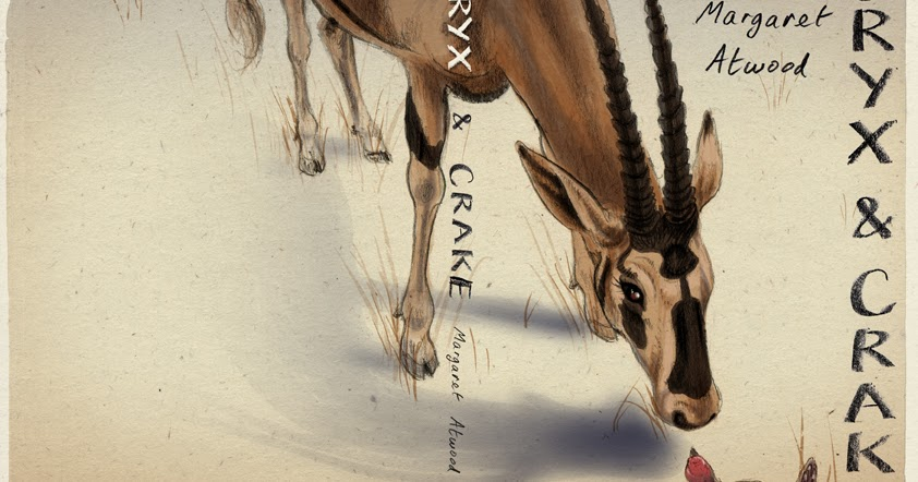 akys art oryx and crake book cover design