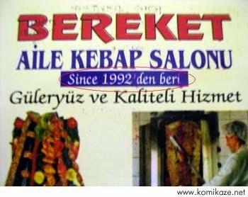 since 1992'den beri