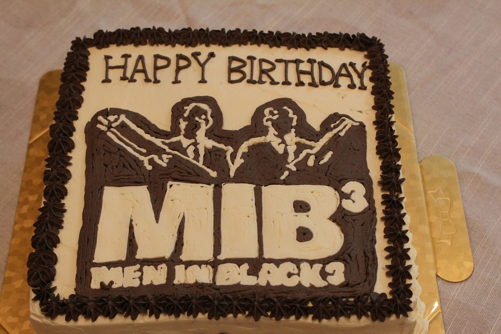 Happy Birthday Images For Men ~ Tortelicious: men in black 3 cake