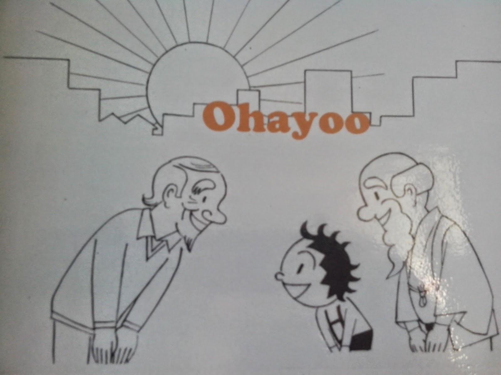 Learning Japanese Greetings