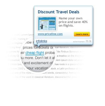 infolinks ads bubble
