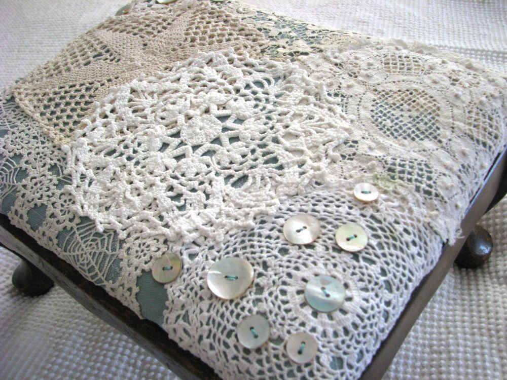 Repurpose: Doily re-do\'s ... | the ReFab Diaries
