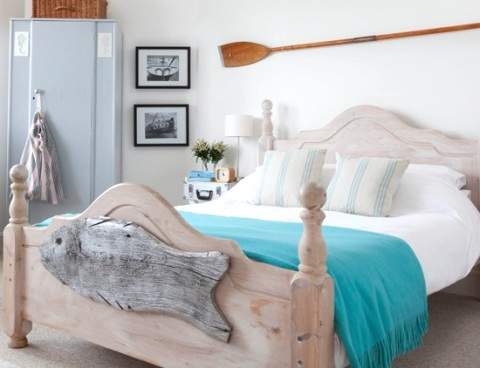 nautical beach bedroom - Beach Bedroom Decorating Ideas