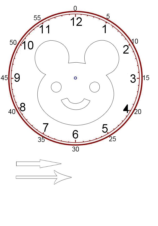costruire l orologio classe seconda