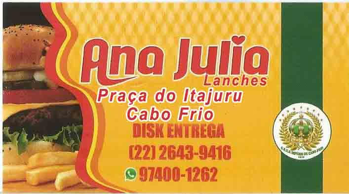 Ana Julia Lanches