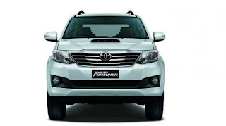 Grand new Toyota Fortuner SUV