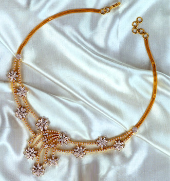 Bapalal Diamond Necklace