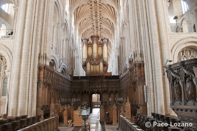 Choir of Norwich Cathedral