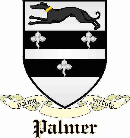 Palmer Surname And Coat Of Arms Meaning Genealogy Ancestral Family