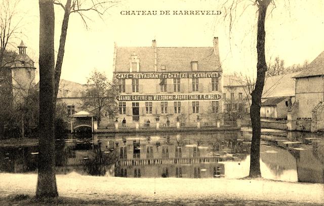 Château du Karreveld - Café restaurant du Château de Karreveld - Grande Laiterie  du Vélodrome - Bruxelles-Bruxellons