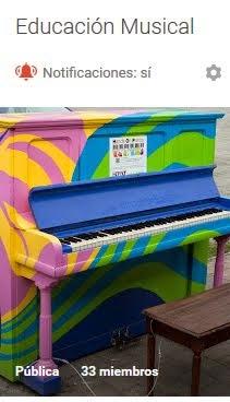 ¿Eres profesor de música?