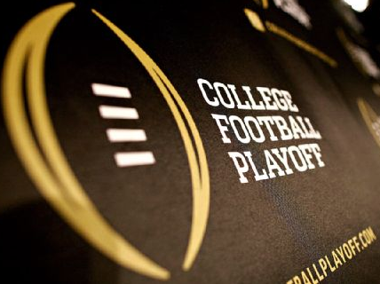 college football tonight on tv what football teams made it to the playoffs