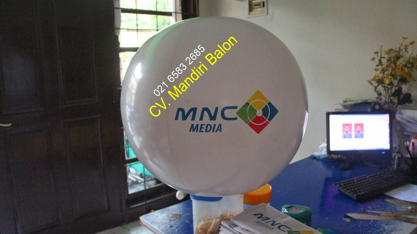 BALON PANTAI MNC TV