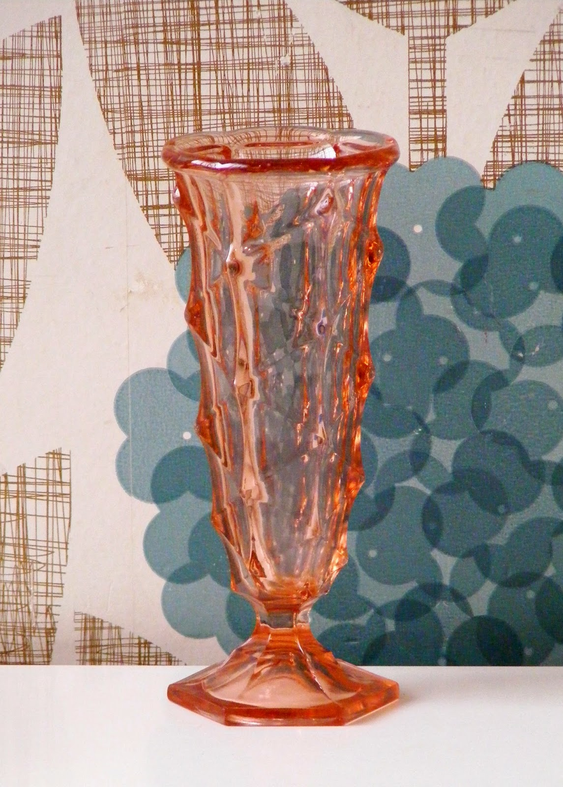 Vamp furniture pink vintage glass vase reviewsmspy