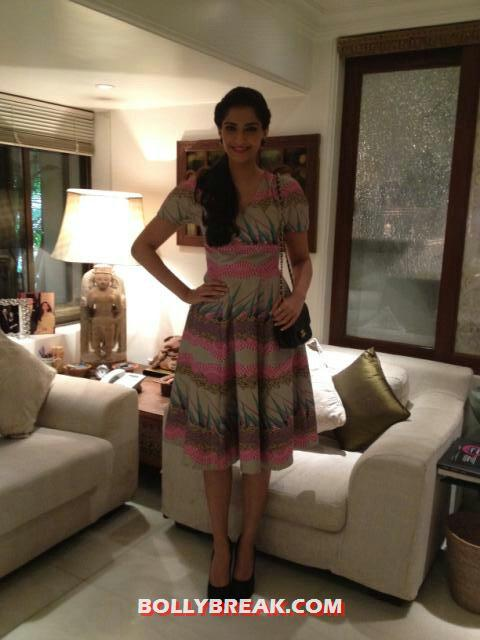 Sonam Kapoor dressed up posing - Sonam Kapoor Real Life Photos