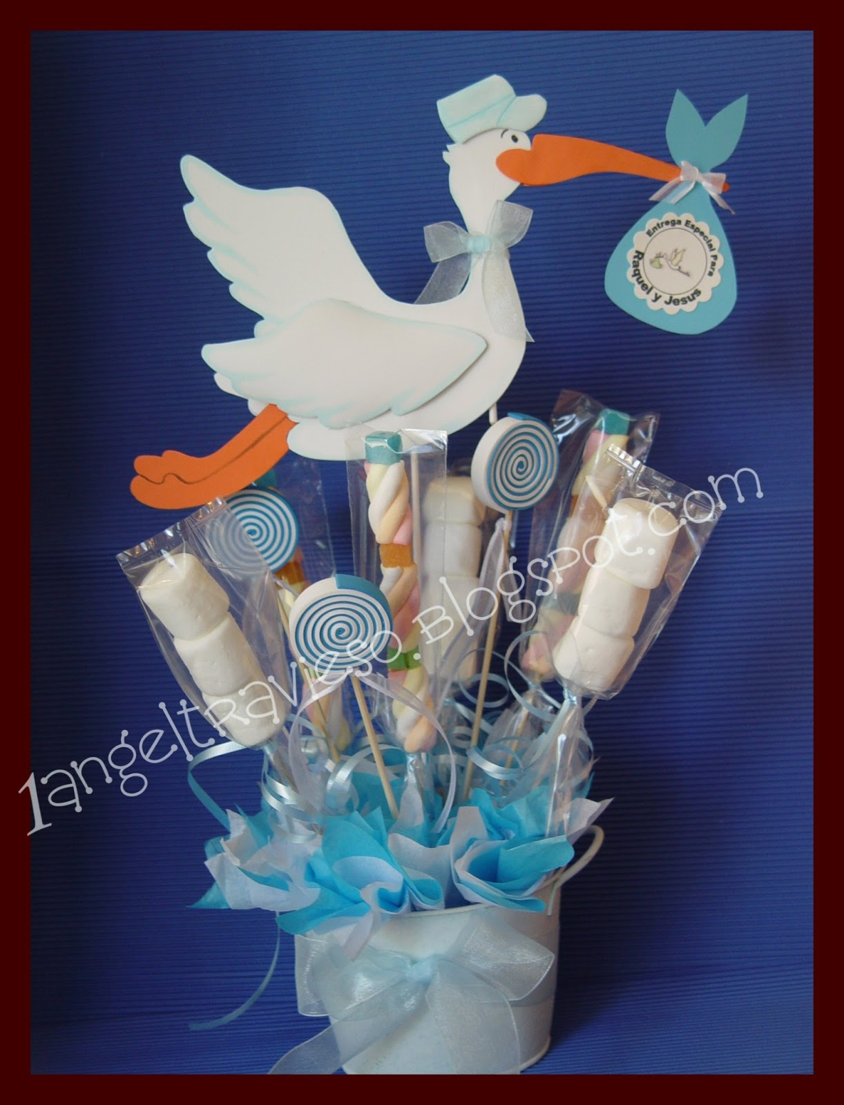 1 Angel travieso Baby shower