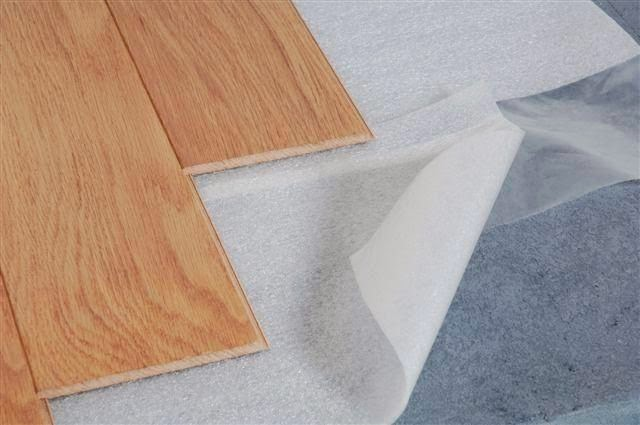 Poly Foam Lantai kayu Parket