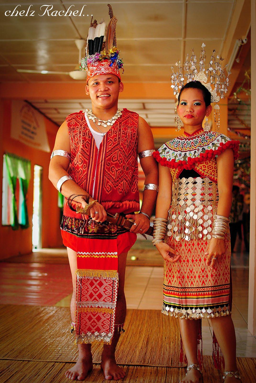 Kali ini saya post gambar Baju Ngepan Kaum iban di SarawakSebelum
