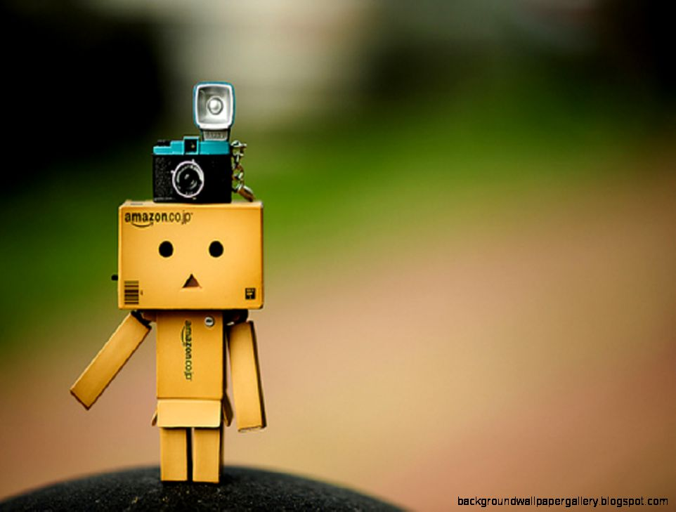 Cute Danbo Camera Studio Wallpaper